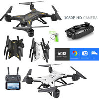 Foldable WIFI FPV RC Quadcopter Drone with 1080P HD 5.0MP Camera Selfie Drone UK