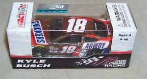 1:64 ACTION 2017 #18 SNICKERS ROWDY KYLE BUSCH JGR TOYOTA CAMRY NIB