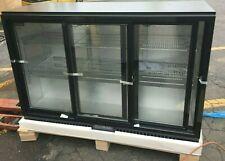 "Cooler Bar NEW with 3 Sliding Glass Door Back Bar Refrigerator 53'' x 21'' x 35"""