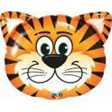 "30"" TICKLED TIGER SUPER SHAPE FOIL BALLOON - BIRTHDAY PARTY - FREE POST UK"