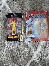 Firestar and Ice Man Marvel Legends