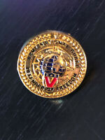 Vintage Collectible Army National Guard Colorful Metal Pin Back Lapel Pin