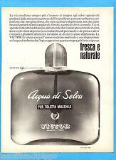 QUATTROR964-PUBBLICITA'/ADVERTISING-1964- VICTOR - ACQUA DI SELVA