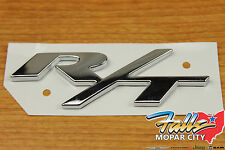 Dodge Mopar Chrome RT R/T Emblem Badge Nameplate Challenger Charger Magnum OEM