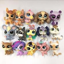 Random Pick Different Lot 7 Pcs Littlest pet shop LPS figure toys gifts boy Y72