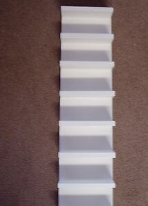 Eyeglass Sunglass White Rack Storage Shelf Wood Hang Display Wooden 2' Handmade