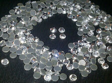 144 x 4mm HOT FIX Acrylic Gem Rhinestones Diamante Grade A - For Stick On