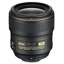 Nikon AF-S 35mm f/1.4G ED N w/FREE Hoya NXT UV Filter *NEW*