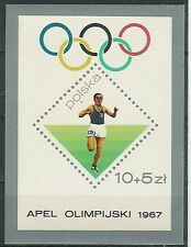 Poland stamps MNH (Mi. B40) Preolympic games