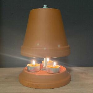 Teelichtheizung Teelichtofen Kerzenofen Tischkamin Teelichthalter 22cm hoch NEU