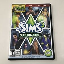 The Sims 3 Supernatural Expansion Pack PC Windows/ Mac Game Tested VG