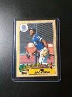 1987 Topps Bo Jackson Future Stars Rookie Rc Kansas City Royals