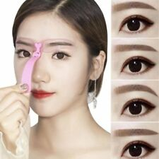 4Pcs/set Chic Eye Brow Stencils Reusable Eyebrow Shaping Makeup Auxiliary Tool