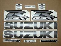 GSXR 1000 graphite grey decals stickers graphics kit set gun metal adhesives k5