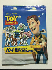 BRAND NEW Sealed Disney Pixar Toy Story 104 Stickers Authentic