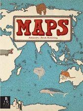 Maps (Hardcover), Mizielinska, Aleksandra, Mizielinski, Daniel, 9...