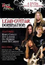 The Rock House Method Lead Guitar Domination Learn to Play Music DVD