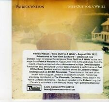 (DI80) Patrick Watson, Step Out for a While - 2012 DJ CD