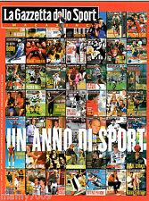 LA GAZZETTA DELLO SPORT MAGAZINE=N°1 1999=UN ANNO DI SPORT 1998=PANTANI=JUVENTUS