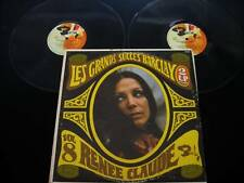 Renee Claude - Les Grands Succes - RARE France Barclay Stereo 2xLP