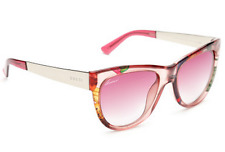 GUCCI Cat Eye Sunglasses GG 3739/S 2F616 Floral Pink