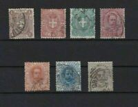 ITALY 1891 USED STAMPS SET   REF 5948