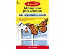 Mata mouches pour fenêtres avec forme de papillon AEROXON (Lot de 4 unités)