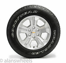 "4 New Chevy Silverado Z71 LTZ Tahoe Suburban Avalanche 18"" Wheels Rims Tires"