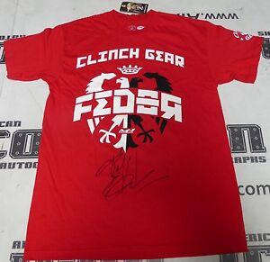 Fedor Emelianenko Signed M Clinch Gear Shirt PSA/DNA COA M-1 StrikeForce Pride
