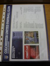 21/08/2012 Colour Teamsheet: Colchester United v Portsmouth  . Thanks for viewin