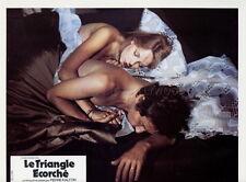 SEXY SABINE GLASER LE TRIANGLE ECORCHE 1975 VINTAGE LOBBY CARD ORIGINAL #9