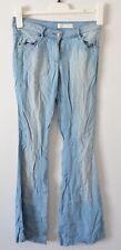 SASS AND BIDE Pants Size 24 6 Small Papa Sucre Chambray Blue Denim tencel