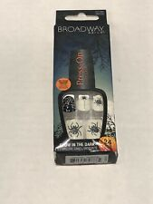 Broadway Nails Press - On Manicure Glow in the Dark 24 Nails hbipd 35 bogeyman