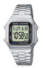 Relojes de pulsera Colección clásica de acero inoxidable de alarma