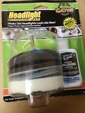 Gator Headlight Restoration Kit - Restore Multiple Headlights Advanced Polishing
