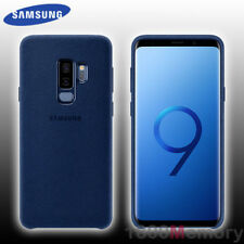 Genuine Samsung Galaxy S9 Plus Alcantara Cover - Blue