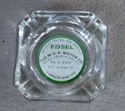 Edsel+MGK+Motor+Co.+Cumberland%2C+MD+Glass+Advertising+Ashtray