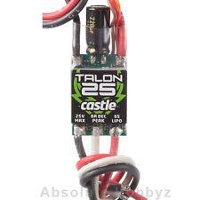 Castle Creations Talon 25 ESC 25A 25.2V - CSE010-0128-00