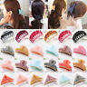 Women Large Scrub Plastic Hair Claw Clips Hollow Carving Hairpin Clamp Headwears