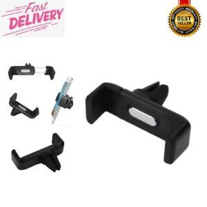 Universal Car 360° Rotating Air Vent Mount Cradle Stand Holder For Mobile Phone