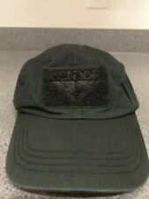 """Condor """"That Guy"""" Black Tactical Cap / Hat - Black"""