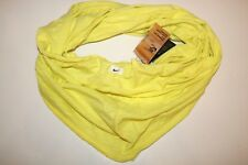 Nike infinite Twist Sciarpa Jersey Slub Knit leggero-Elettrico Giallo-Unisex
