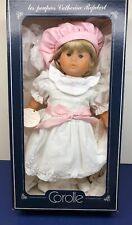 16� Vinyl Corolle Limited French Doll Felicie Blonde Refabert W/ Box