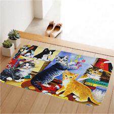 Colorful Cats Indoor Doormat Door Mats Anti-skid Floor Carpet Entrance Area Rugs