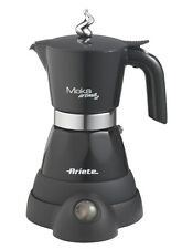 Caffettiera elettrica 2/4 tazze Ariete Moka elettrika caffè 1358 nera - Rotex