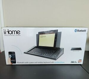 iHome IDM5 Wireless Keyboard & Speaker System for Bluetooth enabled products