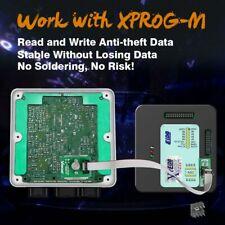 OBD2 Xprog V6.12 XPROG-M ECU Programmer + 8Pin Adapter FEM-BDC 95128/95256 Chip