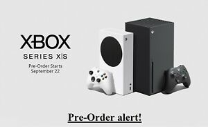 Xbox series X/S Alert For PreOrders No need to refresh Live Across All Retailers