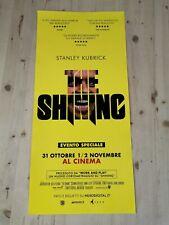 "The Shining Original Movie Poster 12x27"" Italian Kubrick Nicholson King"
