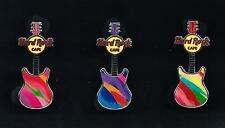 Hard Rock Online / Pins set of 3 pins / Mini Print Guitar Series / Pin / P.14*
